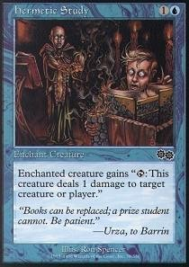 Magic: the Gathering - Hermetic Study - Urza's Saga