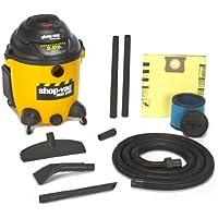 Shop-Vac 9625110 5.0-Peak Horsepower Right Stuff Wet/Dry Vacuum, 12-Gallon