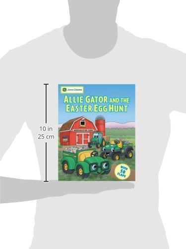 Allie Gator and the Easter Egg Hunt (John Deere Series) by Running Press Kids (Image #1)