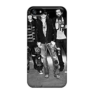 Iphone 5/5s RiR2000KXYQ Customized Nice Foo Fighters Pattern Perfect Cell-phone Hard Cover -AlissaDubois