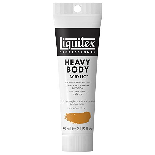 Liquitex Professional Heavy Body Acrylic Paint 2-oz tube, Ca