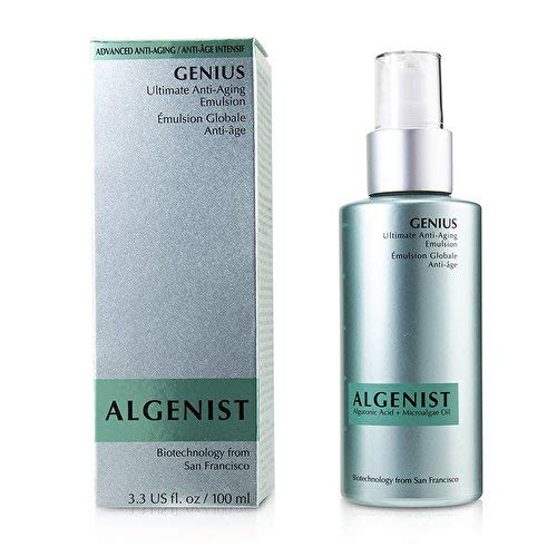 (Algenist GENIUS Ultimate Anti-Aging Emulsion 100 ml, 3.3 fl oz.)