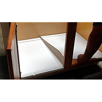Amazon Com Vance Trimmable Under Sink Tray For 30 In