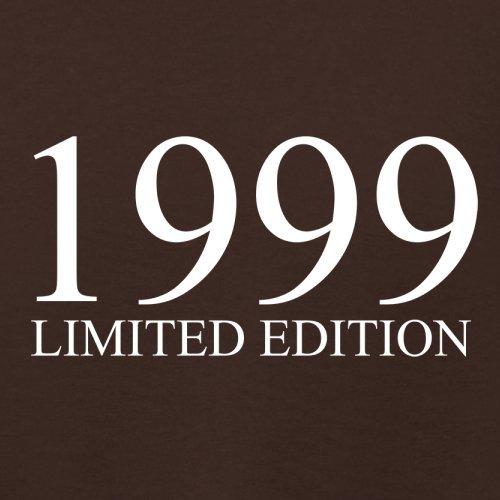1999 Limierte Auflage / Limited Edition - 18. Geburtstag - Damen T-Shirt - Dunkles Schokobraun - L