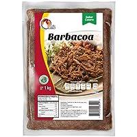 Barbacoa de res, 2 kilos de Barbacoa de res (2 paquetes de 1 kilo cada una)