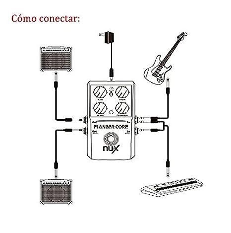 NUX PHASER-CORE Nux Effektpedal für Gitarren Phaser Core: Amazon.de ...