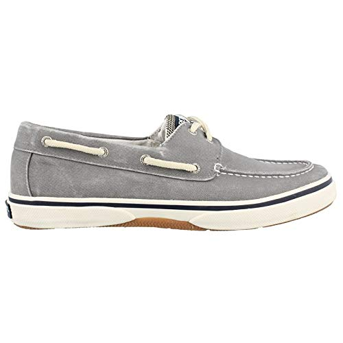Sperry Top-Sider Men's Halyard 2-Eye Lace-Up,Salt Washed Grey,10.5 M - Sider Sperry Shoes Water Top