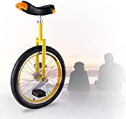Freestyle Unicycle, Stable Structure 16/18/20 Inch Wheel Unicycle Skidproof Mountain Tire for Adults Kids Men