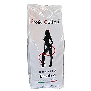 "Erotic Coffee - Qualità ""Erotica"" - Caffè in grani per Espresso, 1Kg"