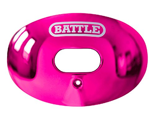 Battle Sports Science Chrome Oxygen Lip Protector Mouthguard - Pink