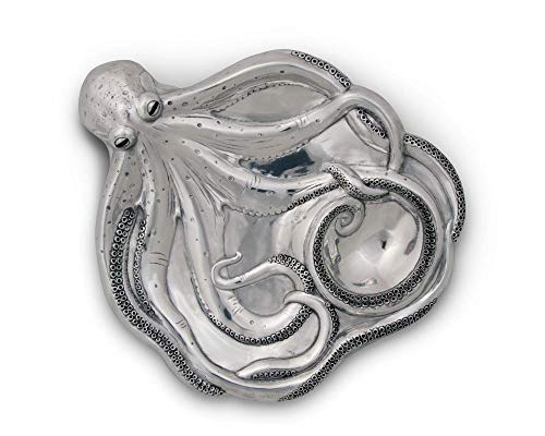 Arthur Court Chip and Dip Tray Octopus Ocean Sea Patten by Arthur Court (Image #3)