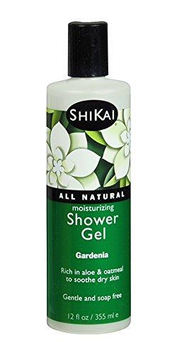Shikai - Daily Moisturizing Shower Gel, Rich in Aloe Vera & Oatmeal to Leave Skin Noticeably Healthier (Gardenia, 12 Ounces) ()