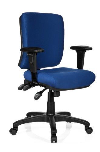 HJH OFFICE 702210 Bürostuhl / Chefsessel Zenit Base, blau