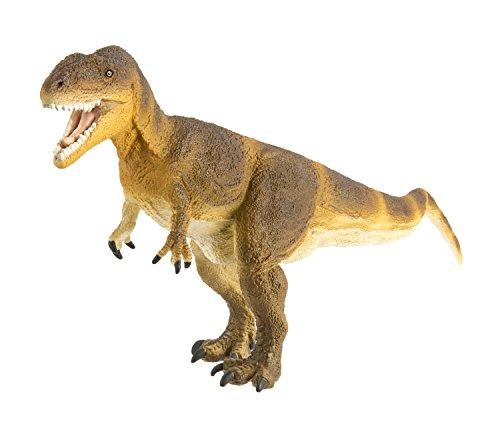 Safari Ltd Wild Safari Dinosaur and Prehistoric Life – Carcharodontosaurus – Roaring and Realistic Hand Painted Toy Figurine Model (Wild Safari Models Dinosaur Toys)
