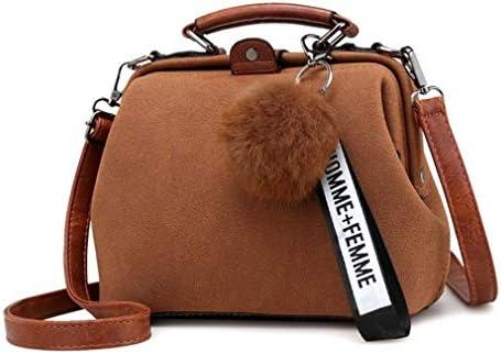 ヴィンテージファッションスクラブバッグメッセンジャーバッグ、シンプル多目的バックパックの韓国語バージョン、ショルダーバッグ、ブラウン 美しいファッション