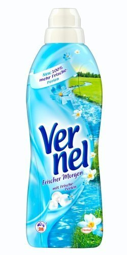 (Vernel Concentrated Fabric Softener Fresh Morning(formally BlueSky) - 1L (appr 28 Loads))