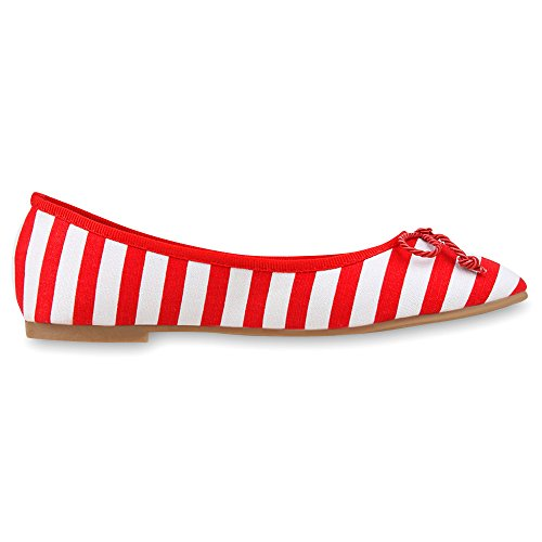napoli-fashion - Bailarinas Mujer Rojo