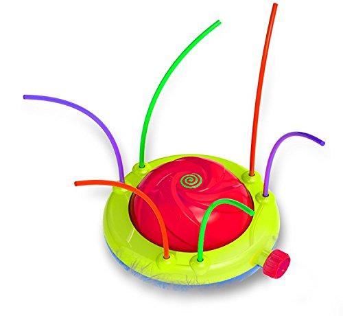41xVDXV0mBL - Tidal Storm Hydro Swirl Spinning Sprinkler Outdoor Toy
