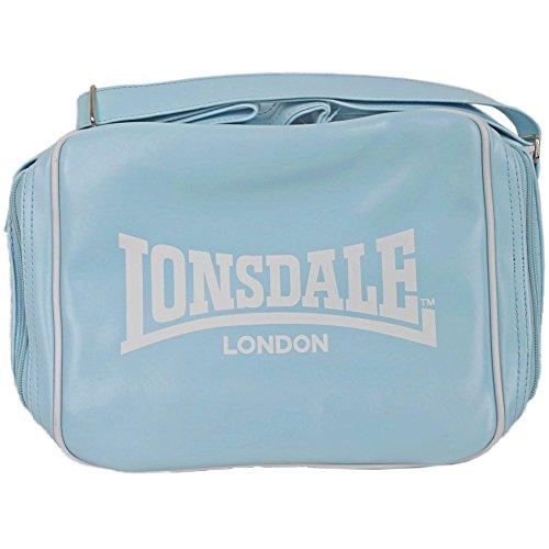 LONSDALE London - Bag Tasche Handtasche - blau / weiß