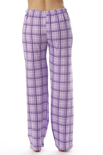 Just Love Women Plaid Pajama Pants Sleepwear 6324-PUR-10281-S by Just Love (Image #2)