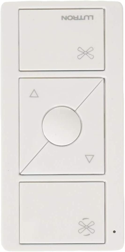 Pico Remote for Caseta Smart Fan Speed Control, PJ2-3BRL-GWH-F01, White