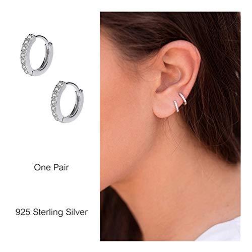 Sterling Earrings Zirconia Cartilage Piercing product image