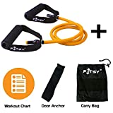 FITSY Resistance Band Toning Tube + Door Anchor + Carry Pouch +...