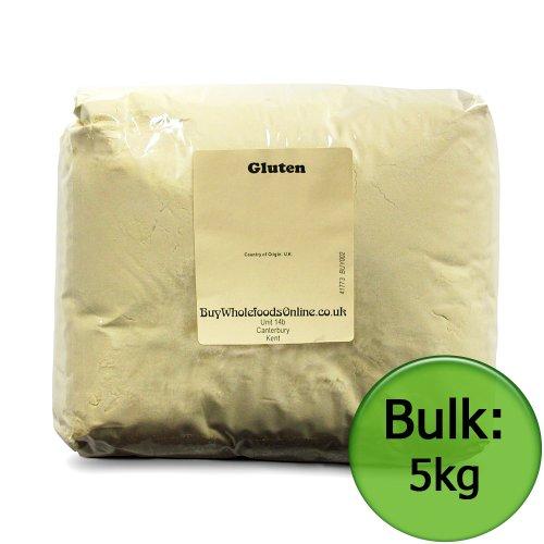 Gluten (Vital Wheat Gluten) 5kg (Buy Whole Foods Online Ltd