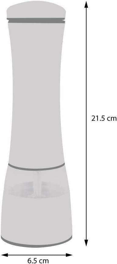 Set de moulins /à sel ou Poivre /électrique INOX 2 pi/èces Forme /évas/ée ProCook