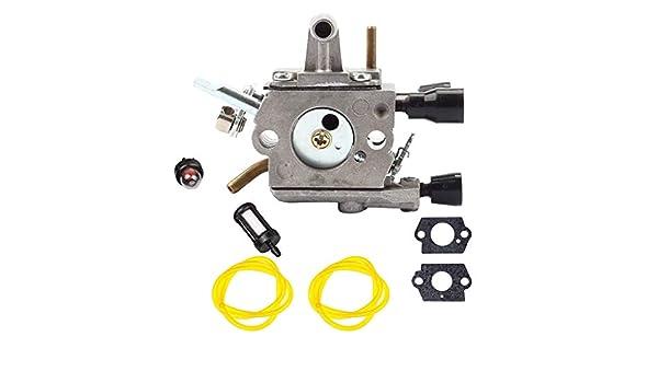 Tubayia - Kit de cortacésped y carburador para cortacésped Stihl ...
