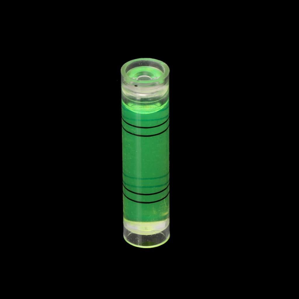 Anjuley 10 Pack DIY Mini Niveau Image Accroche Marque Outils De Mesure Bubble Level Spirit