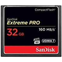 Sandisk 32 GB Extreme Pro CF 160MB/s High Speed UDMA7...