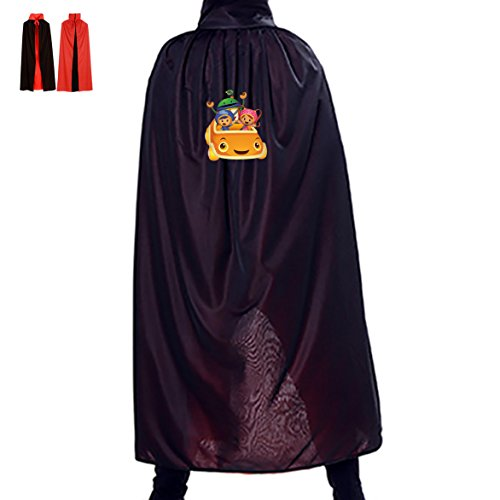 Team Umizoomi Costume Party (Halloween Witch Cape Team Umizoomi Kids Adult Double Layers Halloween Costume Party Cloak)