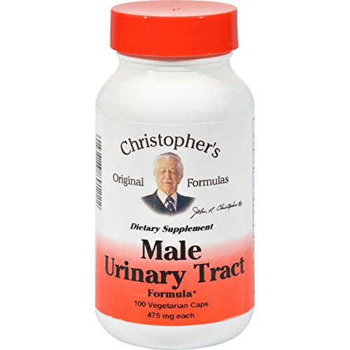 Dr. Christophers Male Urinary Tract - 475 mg - 100 Vegetarian - 475 Mg Capsules 100