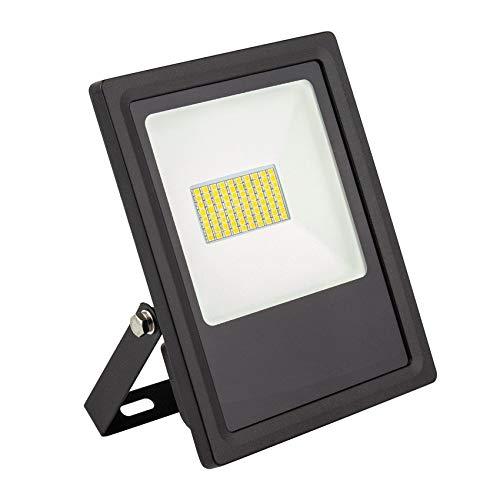 Foco Proyector LED SMD Slim 30W 120lm/W Blanco Cálido 2800k-3200K efectoLED