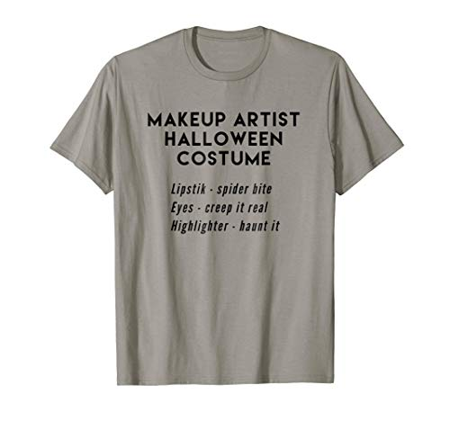 Makeup Artist Halloween Costume Lipstik, Eyes, Highlighter