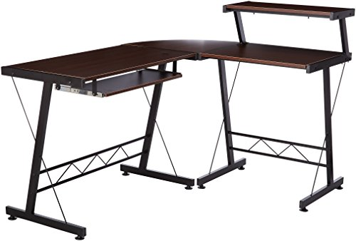 41xVKIAy%2BSL - L Shape Home Office Computer Desk