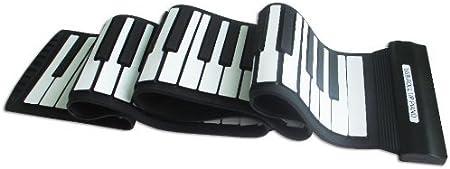 Express Panda® 2015 Nuevo Modelo música electrónica Flexible Teclado con USB   Electrónica Midi Enrollable Sintetizador Piano con 88 Teclas de ...