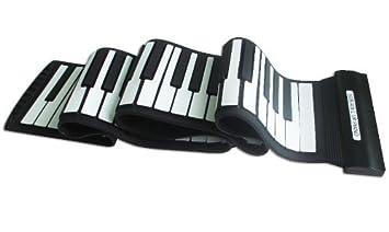 Express Panda® 2015 nuevo modelo música electrónica Flexible teclado con USB | Electrónica MIDI enrollable sintetizador Piano con 88 teclas de silicona ...