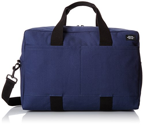 Jack Spade Men's Bonded Cotton Duffle Bag, Navy/Tank, One Size by Jack Spade (Image #1)