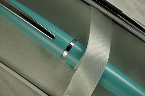 Cross Executive Companion Limited Edition ATX Pearlescent Teal-Blue and polished appointments Ballpoint Pen