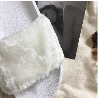LaxBa Ladies Cachemire tricoté coton Maison Chaussons antiglisse36 blanc