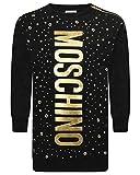 Moschino Girl Black Sweatshirt Dress Mod. HDV06RLDA1060100 8 A