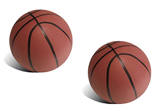 BGM Realistic Toddler/Kids Replacement Basketball - 5.82 inch diameter 2 Pack