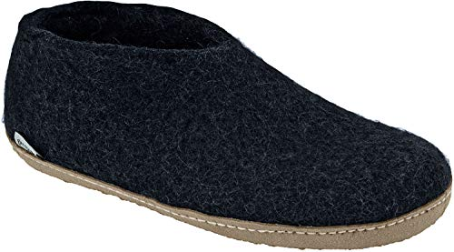 Glerups Women's Shoe Slipper Charcoal Size 40 EU (9.5-10 M US Women)