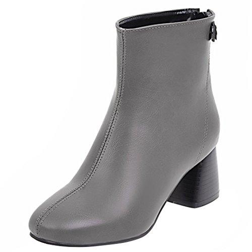 Classic AIYOUMEI Damen Grey Damen Classic AIYOUMEI Boot wvHUnBq