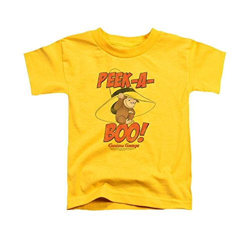 Curious George Peek A Boo Toddler T-Shirt 2t