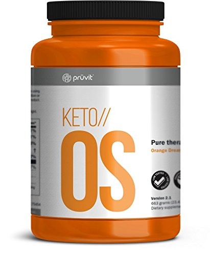 KETO//OS Pure Therapeutic Ketones 30 Serving Kan Caffeine Free