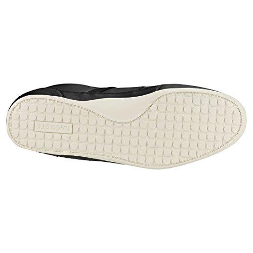 a03d101bc39 Lacoste Chaymon Noir h - Chaussures Basses Cuir Ou Simili - Noir - Taille 41   Amazon.fr  Chaussures et Sacs
