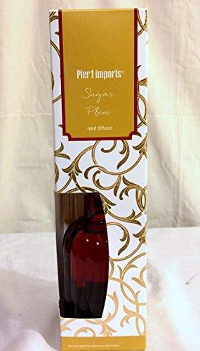 New Pier One Sugar Plum Fragrance Reed Diffuser -